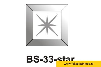 Facet vierkant  76x76