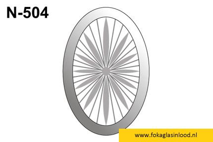 Facet ovaal 101x152mm (N-504)