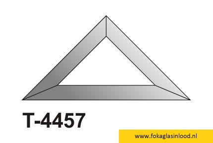 Facet driehoek 102x102x144
