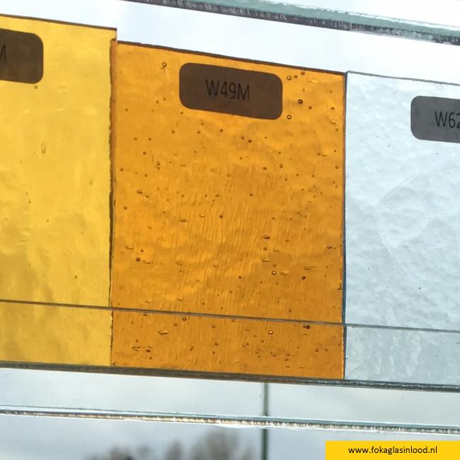 W49M (0,12m²) Oranje-oker