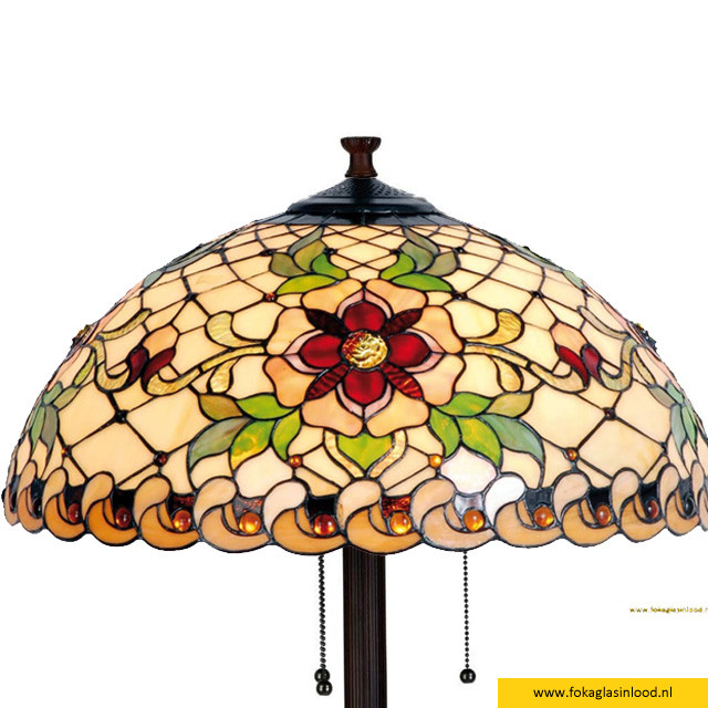 Vloerlamp Victorian Flower