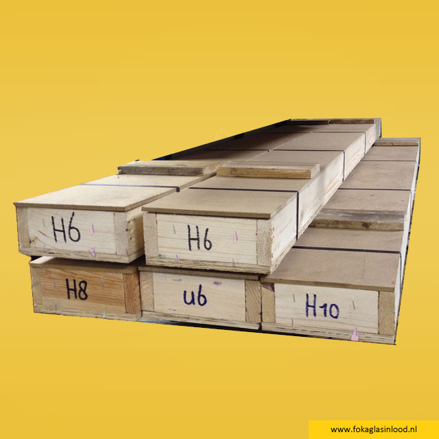 Loodprofiel kist 25kg H15