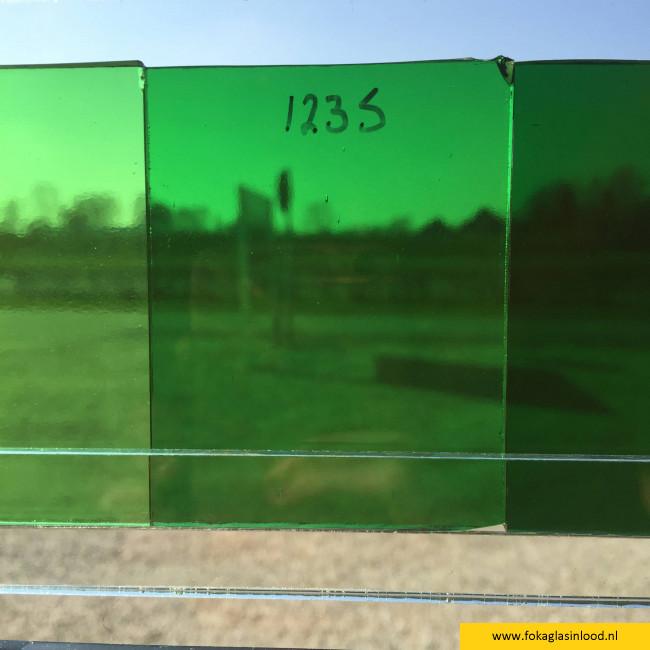 Glasmonstervoorbeeld winkel 6x7 cm