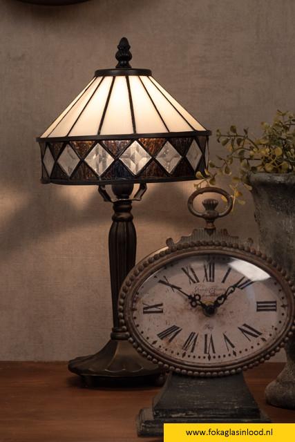 Tafellampje compleet tiffany Ø 20cm