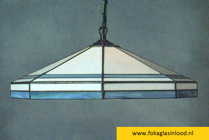Hanglamp Foka | Carola wit-blauw