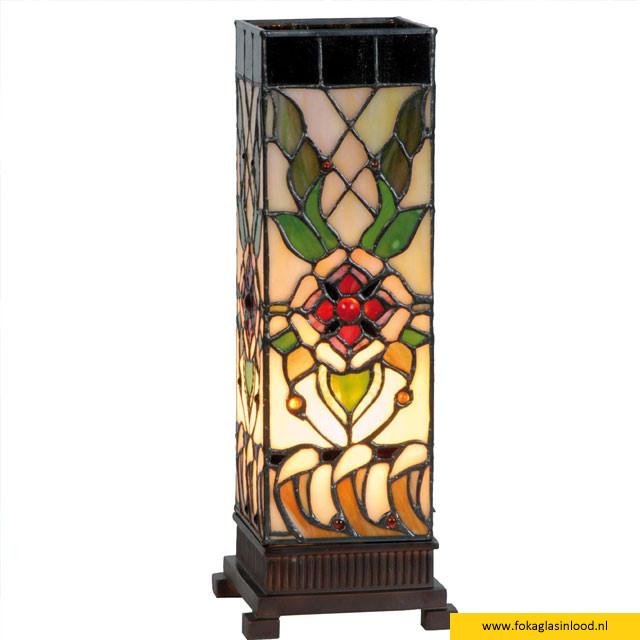 Windlicht Victorian Flower H35cm