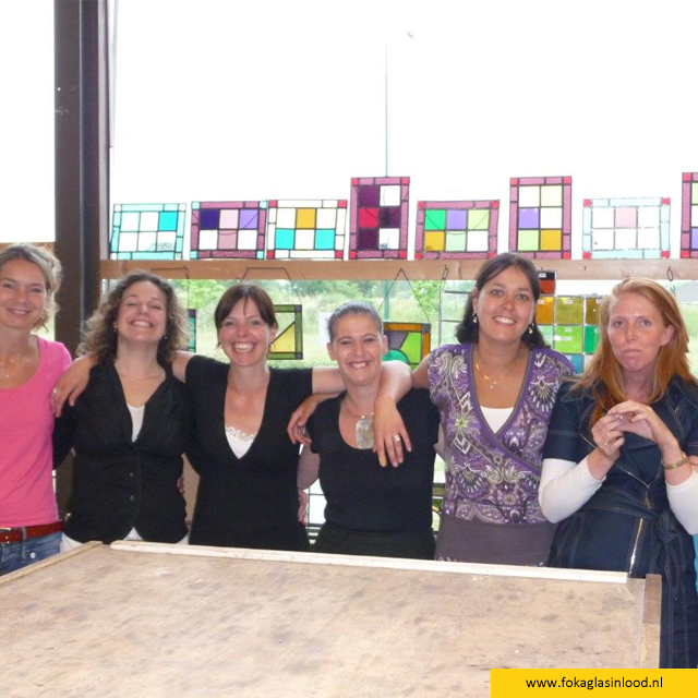 Workshop  Groepsuitje glas-in-lood