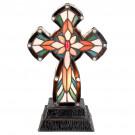 Decoratie Kruis Tiffany 20x31cm