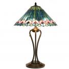 Tafellamp blauwgroen 48cm