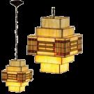 Hanglamp Art Deco 30cm