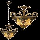 Hanglamp Victorian Ocean Ø 56*170 cm 3x E27