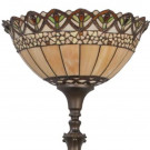 Vloerlamp Tiffany uplight Ø 40cm