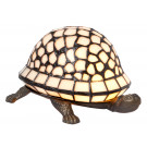 Schildpad met Tiffanyschild