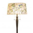 Vloerlamp van Tiffanyglas Ø 45cm