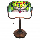 Bureaulamp Libelle Green