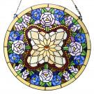 Tiffany glass panel Ø 60 cm
