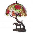 Tafellamp paard 43x58cm