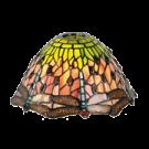 Lampenkapje Libelle Nature 25cm