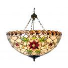 Plafondlamp 'mandje' Victorian Flower