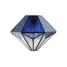 Lampenkap Tiffany Akira blue