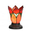 Tafellampje Lovely Flower Rood Romantic laag