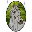 Paard raamhanger (maatwerk Tiffany)