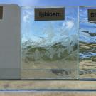 Ijsbloemglas (0,12m²)