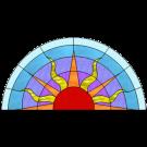 Patroon Zon - Glass Eye