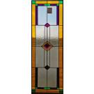 Glasinlood 004 Voorzetraam gekleurd met facet