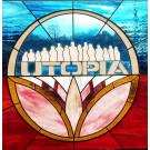 Glas-in-loodraam in opdracht van Utopia.