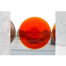 Rondels 606AM oranjerood 80mm