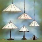 Tiffanylamp Foka | Inge combi