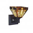 Wandlamp Tiffany Maya Ø 18cm