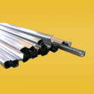 U-Profiel zink/blik (180cm) 4x4mm
