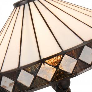 Tafellamp white square Ø 30cm