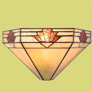 Wandlamp schelp-klassiek Ø 30cm Art Deco