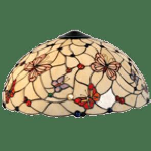 Kap van Tafellamp compleet Vlindertuin  Ø 41cm