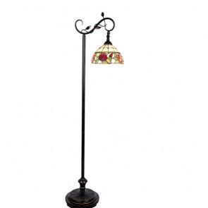 Vloerlamp van Tiffanyglas Ø 25cm