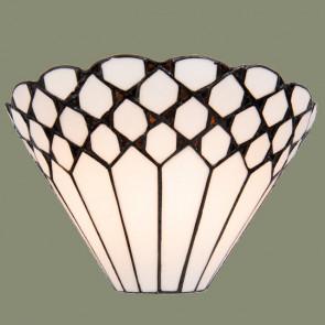 Wandlamp schelp white art 30cm