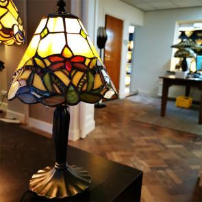 Tafellamp bloemen 20cm