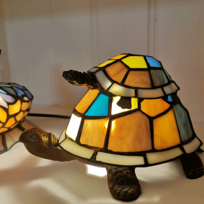 Decoratie 22x16cm schildpad
