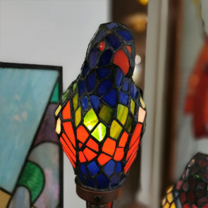 Decoratie 50x63cm papegaaien