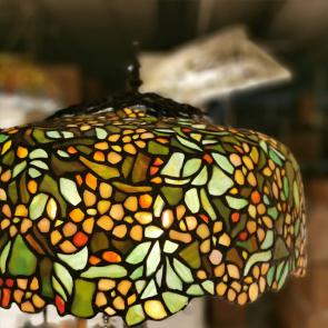 Tafellamp meerkleurig 46cm