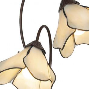 Tafellamp dubbele bloem 41cm