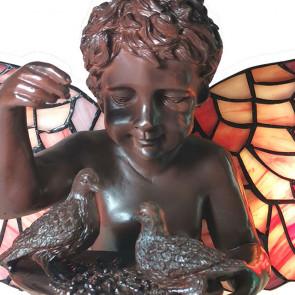 Decoratie 33x21cm engel