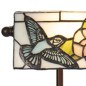 Bureaulamp vogel 17cm