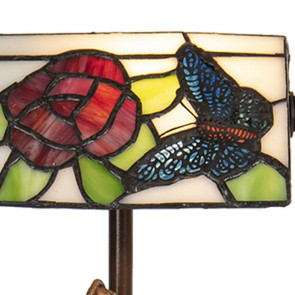 Bureaulamp vlinder 17cm