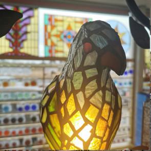 Hanglamp 40x26cm papegaai