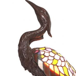 Decoratie 21x53cm vogel