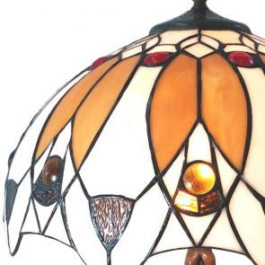 Tafellamp bruin 41x57cm